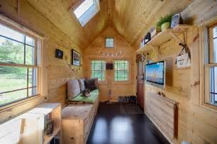 Tiny Home Interiors Mobile Tiny Tack House Is Entirely Built By And Looks Gorgeous