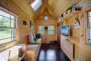 Mobile Tiny Tack House Is Entirely Built By Hand! And ...