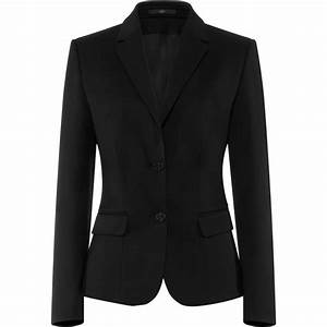 Blazer Femme Noir : veste blazer femme 2 boutons confort lycra et stretch ~ Preciouscoupons.com Idées de Décoration