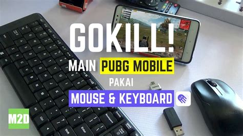 main pubg mobile pakai mouse  keyboard  aplikasi