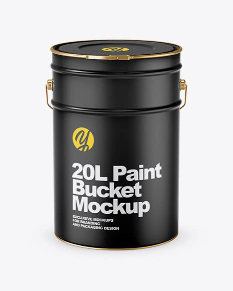Keeping that in mind, we have created a stunning paint bucked psd design template which could be utilized for presentation or product demonstration. 20L Glossy Paint Bucket Mockup - 20L Matte Paint Bucket ...