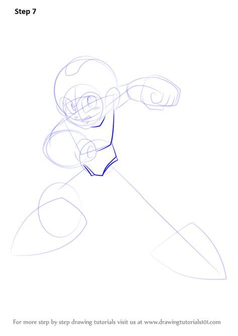 learn   draw mega man mega man step  step