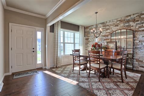 Dining Room In Entryway by The Reilly