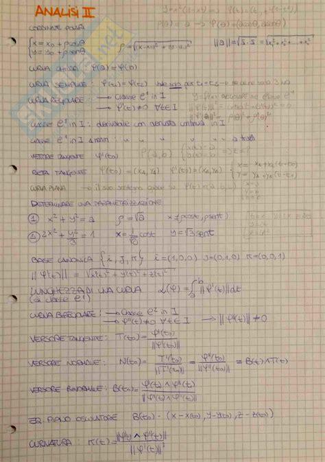 dispense analisi matematica 1 schema appunti di analisi matematica 2