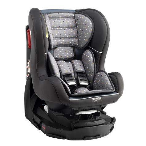 siege auto nourrisson groupe 0 1 pivotant delta gris de formula baby siège auto