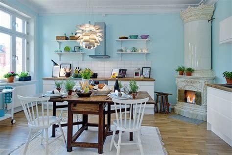 light blue kitchen decor welche wandfarbe f 252 r k 252 che 55 gute ideen und beispiele 6962