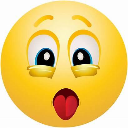 Emoji Exhausted Emoticon Clipart Clip Face Faces