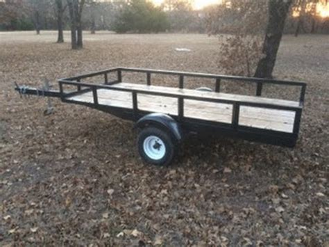 Convert Boat Trailer To Utility boat trailer to utility conversion part 5