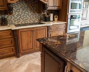 kitchen island with granite countertop contrasting island and countertops granite kitchen