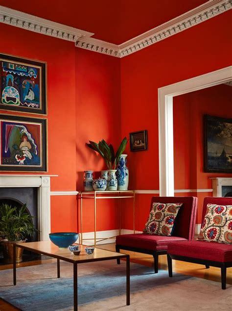 Bescheiden Bilder Wandfarben Ideen Wandfarbe Rot Dekoration Images Gallery