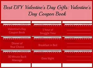 Best DIY Valentine's Day Gifts: Valentine's Day Coupon Book