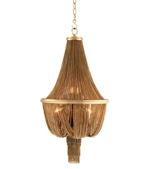 Gold Chandelier by Martinez Large Gold Chandelier Shop Now