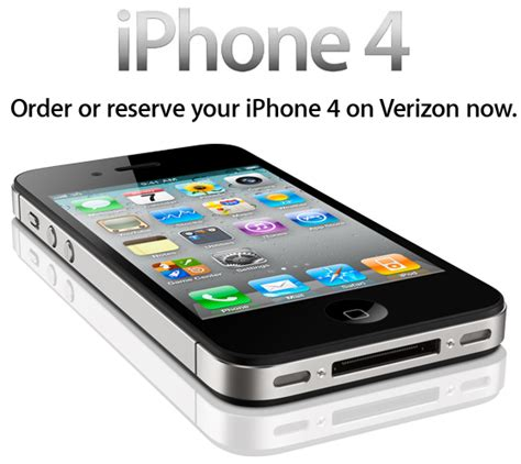verizon iphone 4 verizon iphone 4 general order availability starts now in