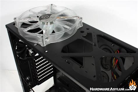 biggest pc case fan thermaltake overseer rx 1 case review case layout and