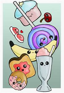 Cute foods design by Beatrix-White on DeviantArt