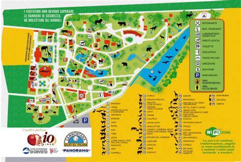 ingresso zoo di pistoia mappa dello zoo 1 giardino zoologico di pistoia