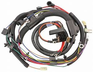 M U0026h Chevelle Engine Harness 396  454 W  Manual Trans