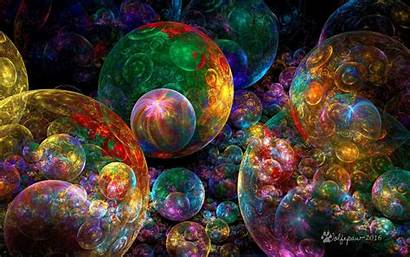 Bubbles Wolfepaw Colorful Fractal Upon Deviantart Fractals