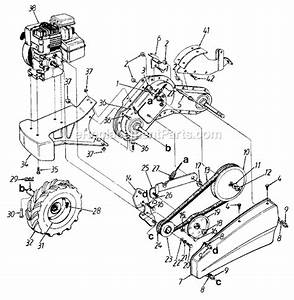 Mtd 215-410-730 Parts List And Diagram