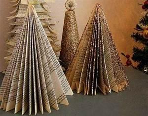 11 Alternative Christmas Tree Designs Made with Books