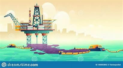 Liquidation Concetto Perdite Petrolio Liquidazione Vettore Tecnologia