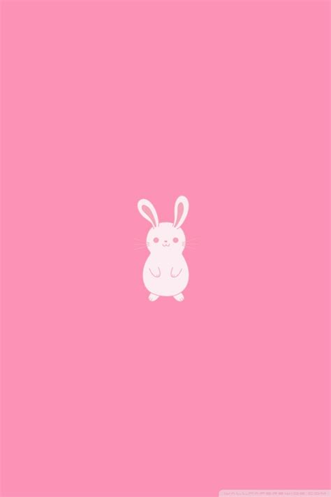 pink bunny wallpaper gallery