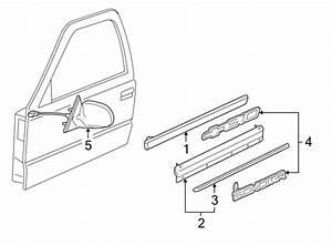 Chevrolet S10 Door Molding  Gmc