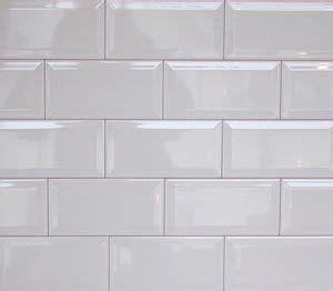 wall tiles gloss white bevel subway tile 150x75mm