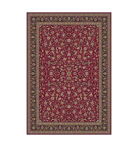 tappeto classico tappeto tabriz classico floreale rosso 12311