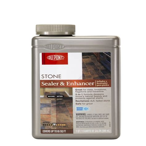 dupont tile sealer finish shop dupont 32 fl oz enhancer at lowes