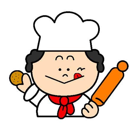 femme chef de cuisine dessin de cuisinier 2 colorie par membre non inscrit le 12
