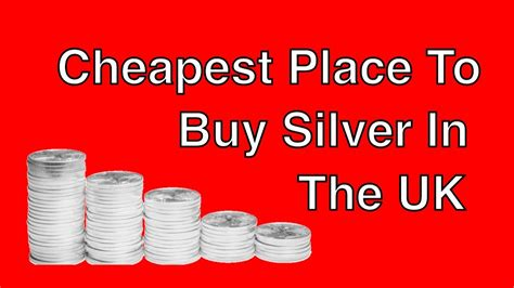 Cheapest Place To Buy Silver In The Uk  Vat Free?  Youtube