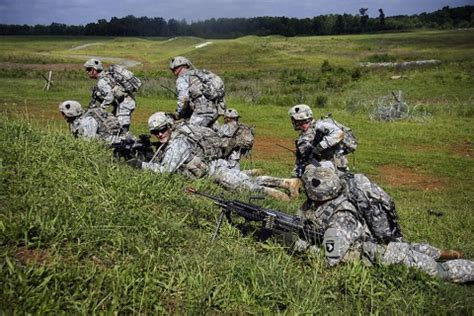 st airborne division strike soldiers conduct