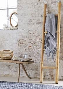Porte Serviette En Bambou : porte serviettes 8 mod les design pour ma salle de bains marie claire ~ Nature-et-papiers.com Idées de Décoration