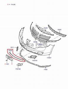 New Oem Front Bumper Lower Grill Molding 2010