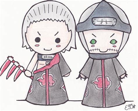 Hidan And Kakuzu Chibis By Oomles On Deviantart