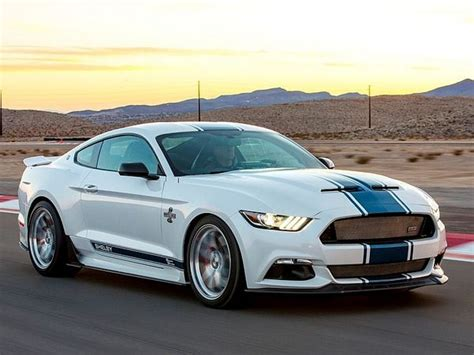 shelby  anniversary super snake unveiled latest