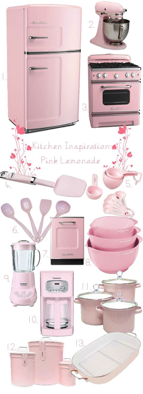 Pink Kitchen Inspiration by 17 Best Ideas About Pink Kitchens On Pink