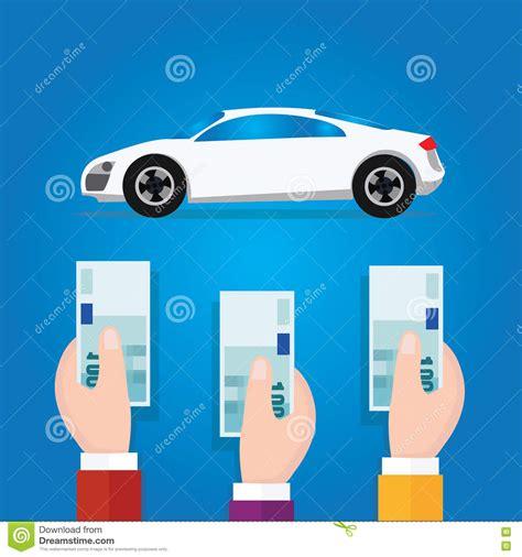 auto bid auction car bidding auction offer money concept business