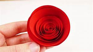 Rosen Aus Servietten Basteln : rote rosen aus papier basteln schnelle und einfache papierblumen zum valentinstag youtube ~ Frokenaadalensverden.com Haus und Dekorationen