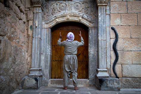 yazidis exile  spiritual homeland  iraq dilutes