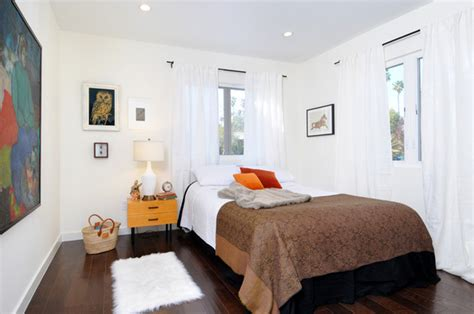 vintage modern silverlake bedroom eclectic bedroom