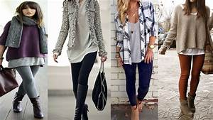 Casual Winter Outfit Ideas with Leggings - YouTube