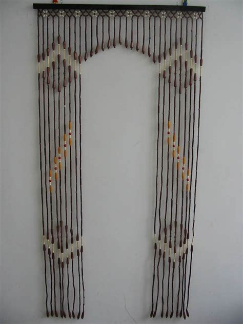 wood and bamboo beaded door arch curtain buy bamboo arch