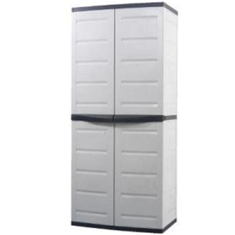 Plastic Storage Cabinets Home Depot by Workforce Garage Storage Storage