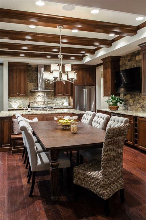 cuisine contemporaine bois cuisine moderne en bois