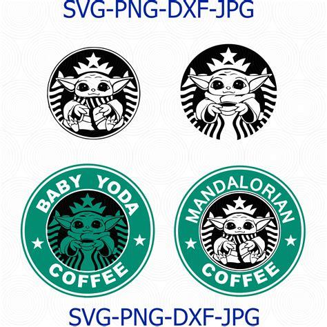 Coffee svg, starbucks svg, starbucks svg free, starbucks coffee emblem, starbucks cup svg, starbucks cut files, starbucks logo svg, starbucks logo. TWO Baby Yoda Starbucks Center, Two Logos plus by ...
