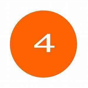 Number 4 Clip Art At Vector Clip Art Online
