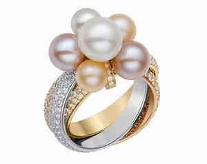 Anelli Fidanzamento 2014 Solitario Con Perle Cartier