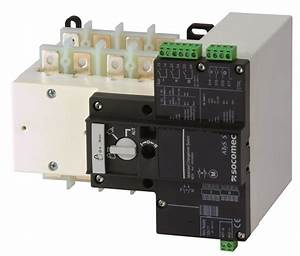 Atys S - Atys D S - Remotely Operated Transfer Switches